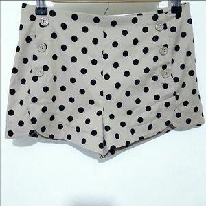 Polka Dot High Rise Sailor Shorts